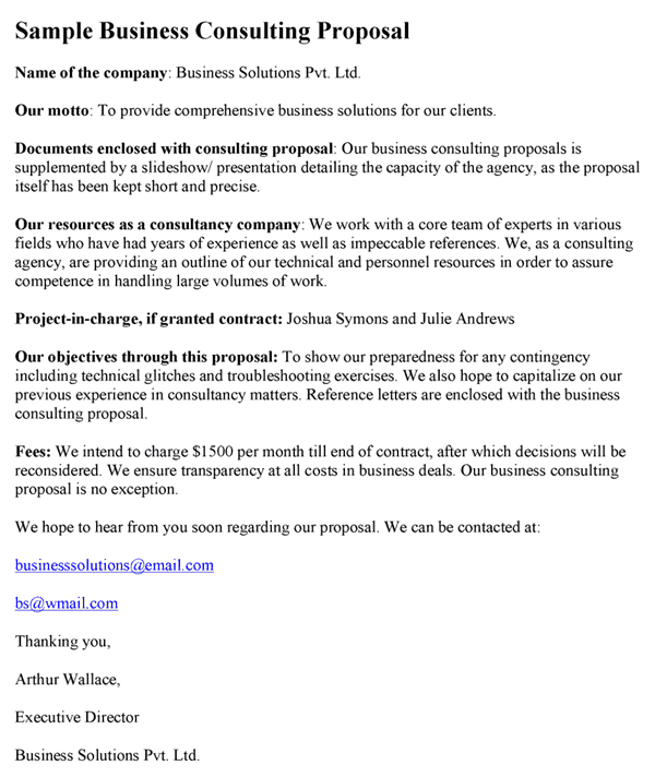 consultant offer letter template - consulting proposal template word excel pdf formats