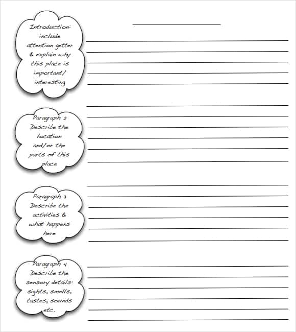 Essay Outline Template Word