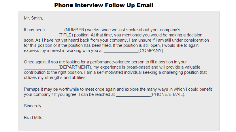 Follow-up emails that will get you hired