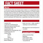 Fact sheet templates