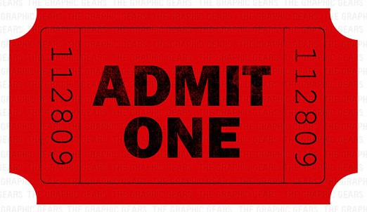 admission ticket template 1