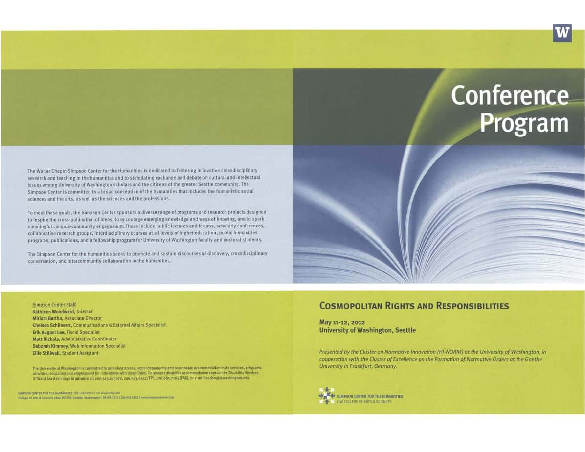 4 Free Conference Program Templates - Word - Excel - PDF Formats