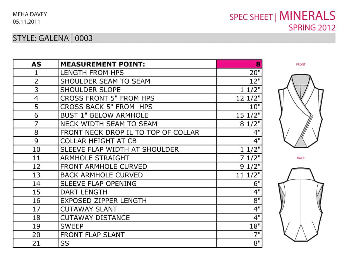 5 free specification sheet templates - word - excel