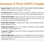 5 Free Statement Of Work Templates